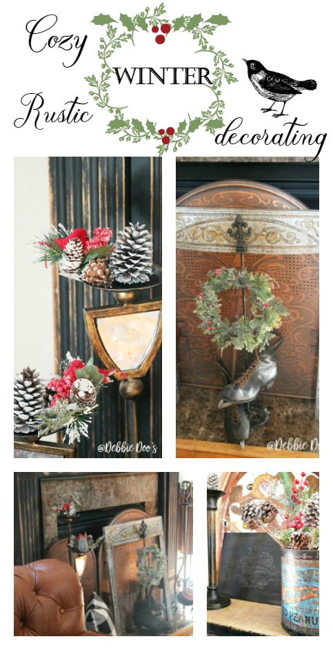 How to transition your Christmas decor into Winter decorating without too much fuss