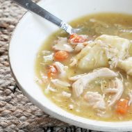 How to make a low fat version of chicken and dumplings and not compromise the taste