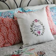 How to make your own custom linen pillow
