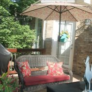 Low maintenance outdoor decking and decorating