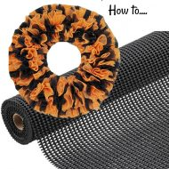 How to make a shelf liner wreath with Dollar tree supplies