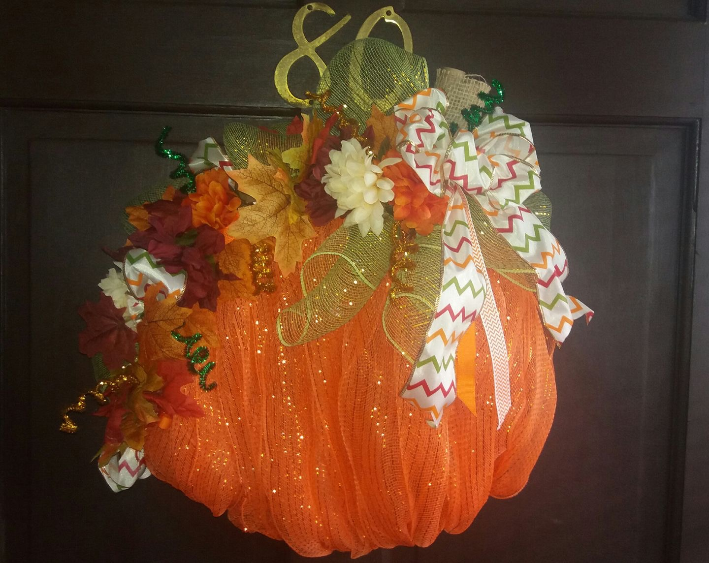 Dollar Tree Pumpkin And Witches Hat Wreaths Debbiedoos