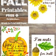 Fall quotes and Printables