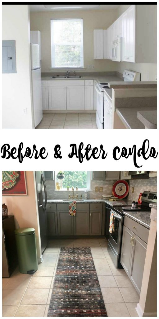 Before And After Condo Remodel