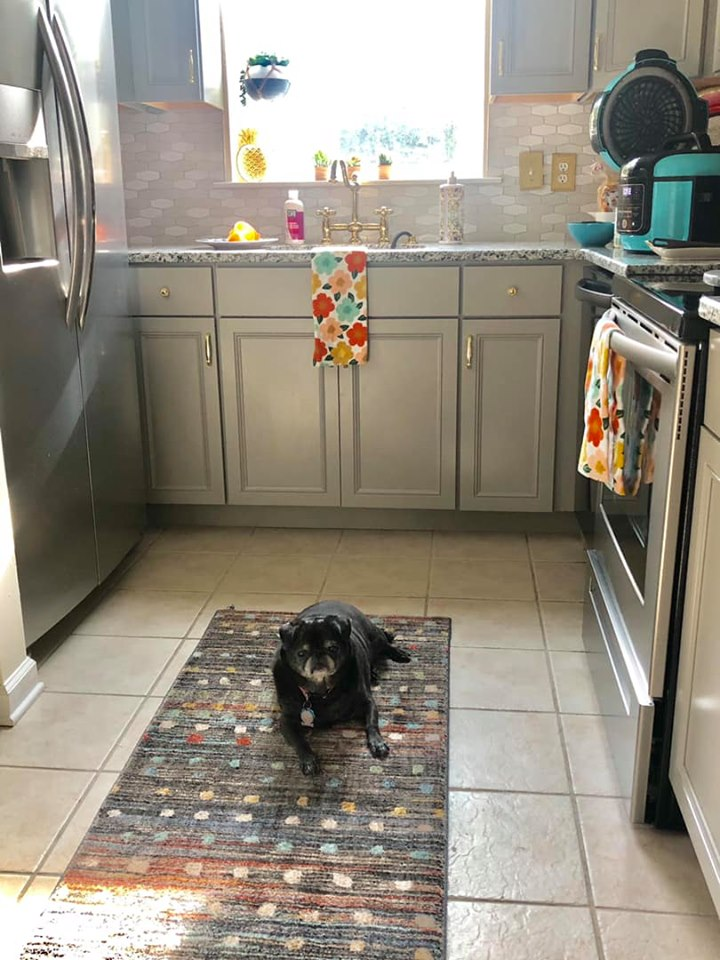 Ugly condo kitchen makeover