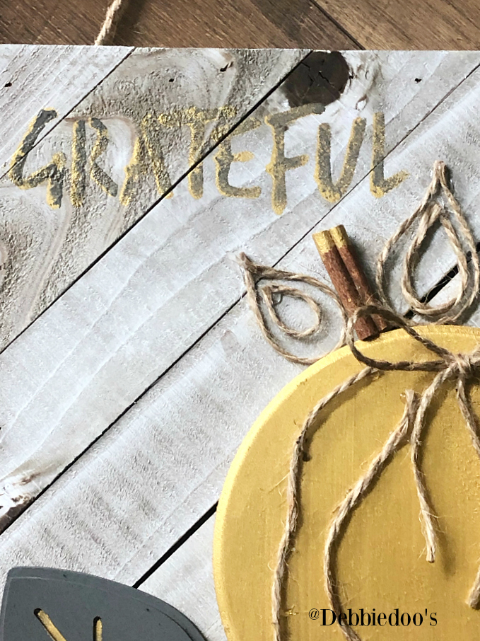 DIY BOHO Pumpkin sign
