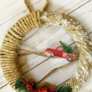 Dollar tree Christmas craft ideas @Debbiedoo's