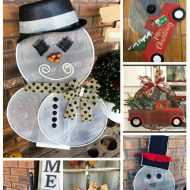 Dollar tree Splatter Screen wreath ideas