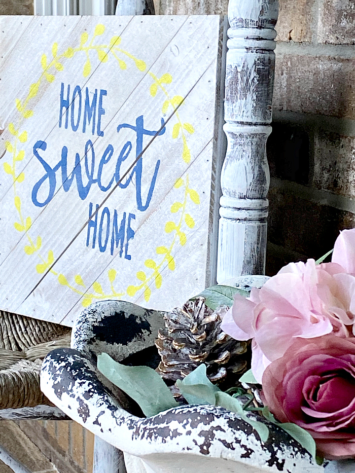 DIY farmhouse rustic sign