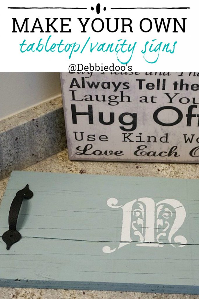 DIY signs, trays, lazy Susans and more