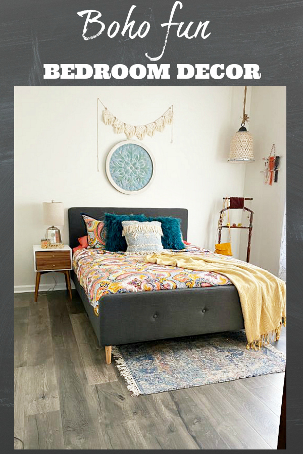 Boho bedroom decorating ideas
