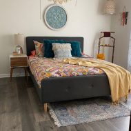 Boho bedroom style