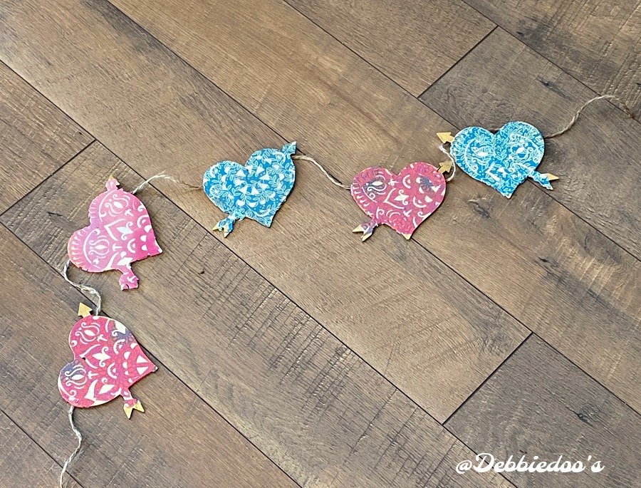 Dollar tree heart crafting ideas