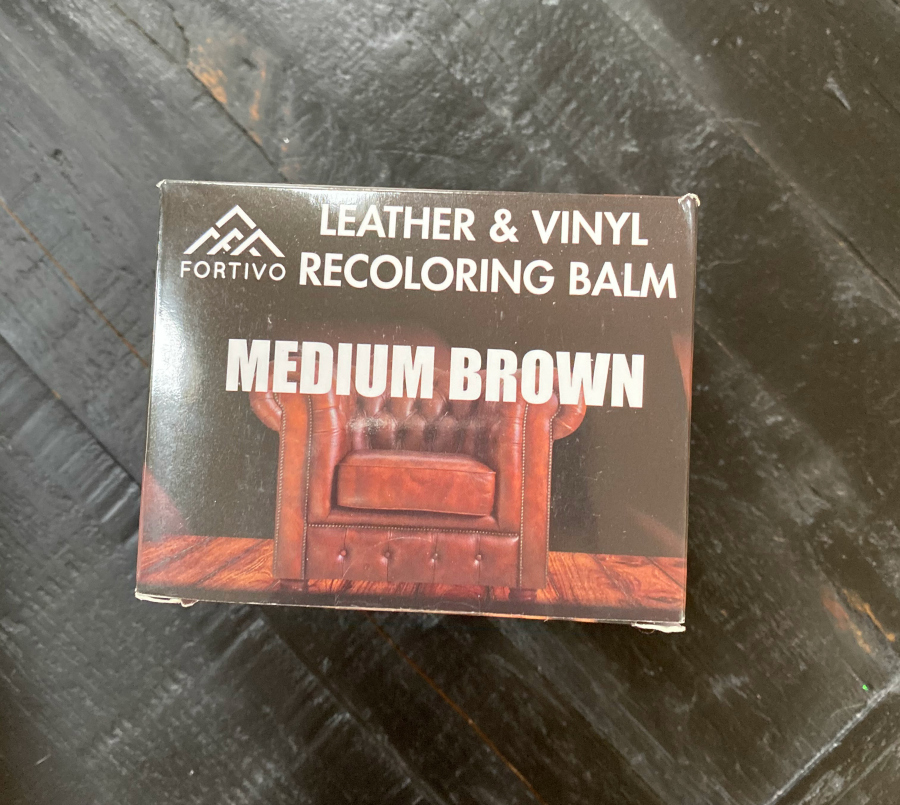 Fortivo leather and vinyl recoloring balm