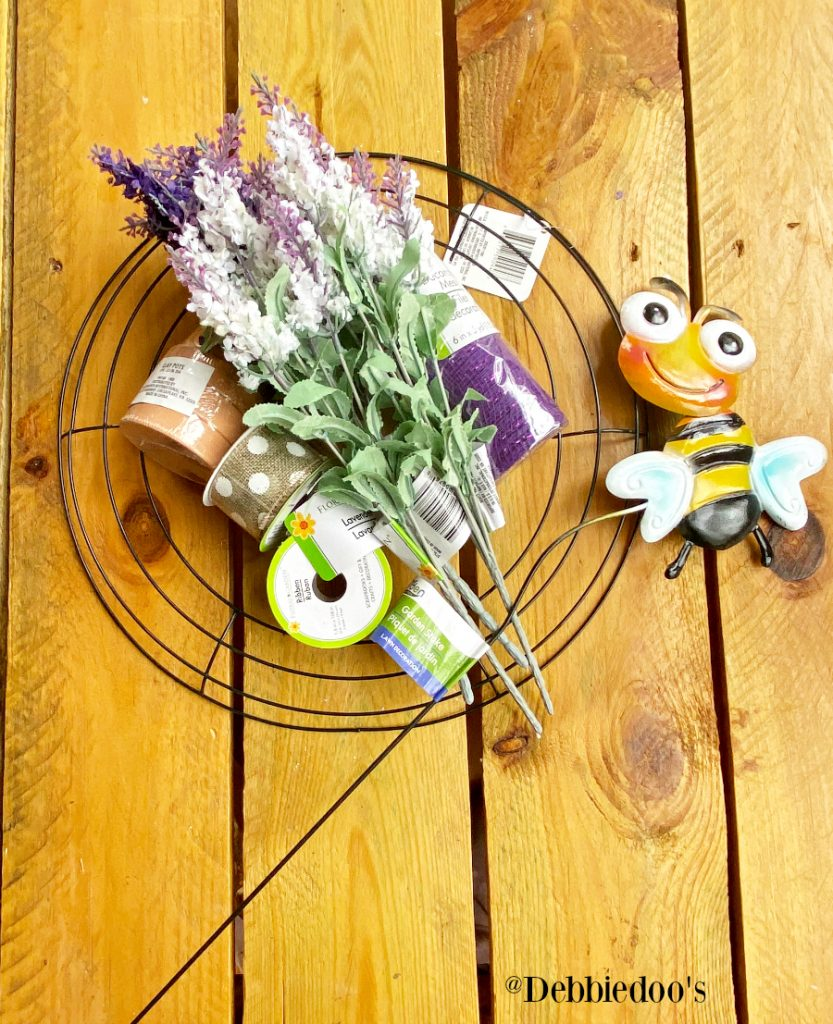 Dollar tree spring wreath DIY ideas