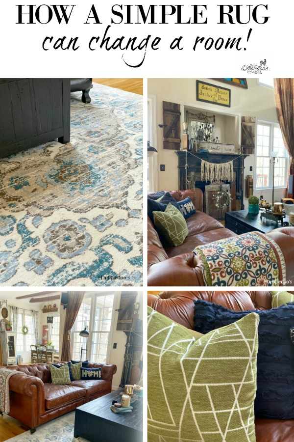 How a rug can change a room, and either make it or break it