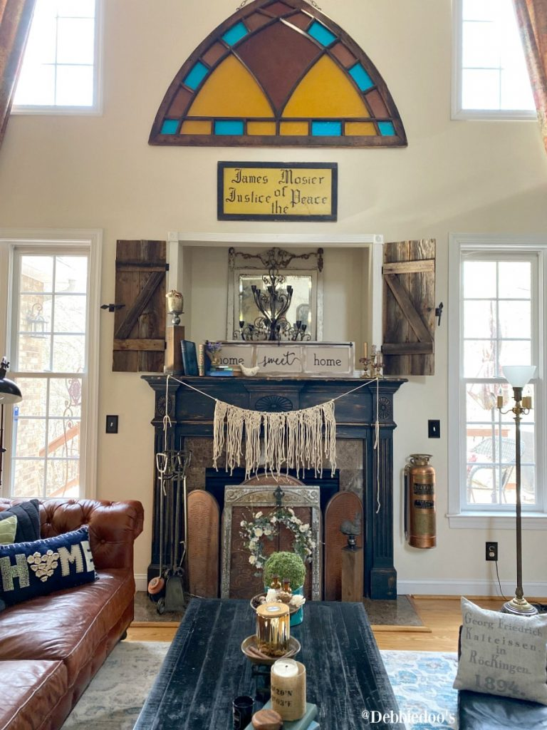 boho mantel decorating ideas