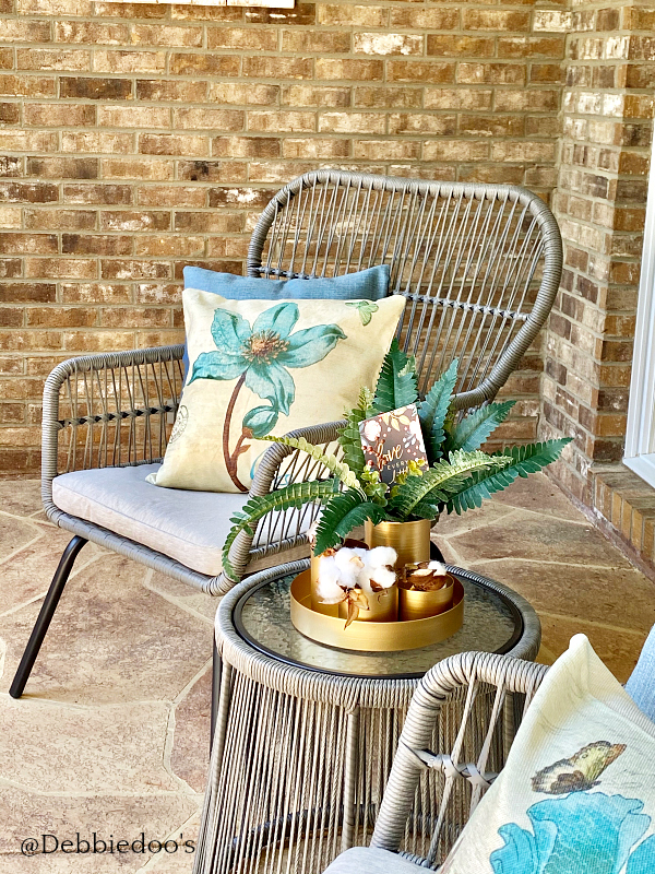 Boho patio decorating ideas
