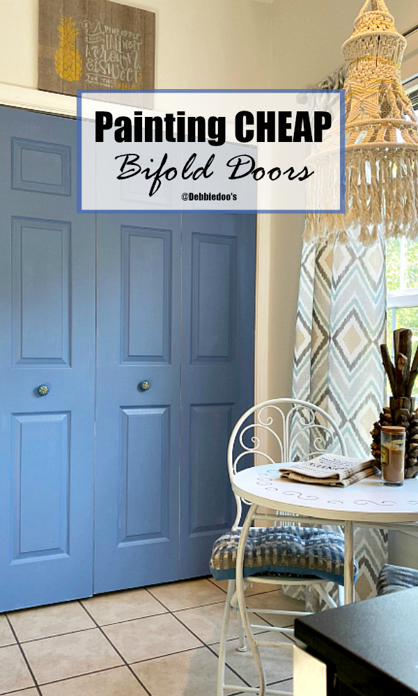 How to paint bifold doors and get an upgraded look without the cost
