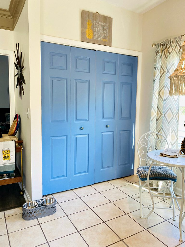 How to paint bifold doors