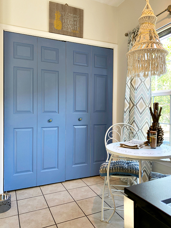 Painting laundry room interior doors