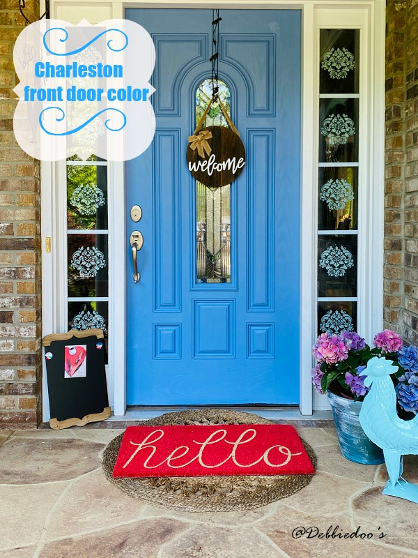 Charleston front door color