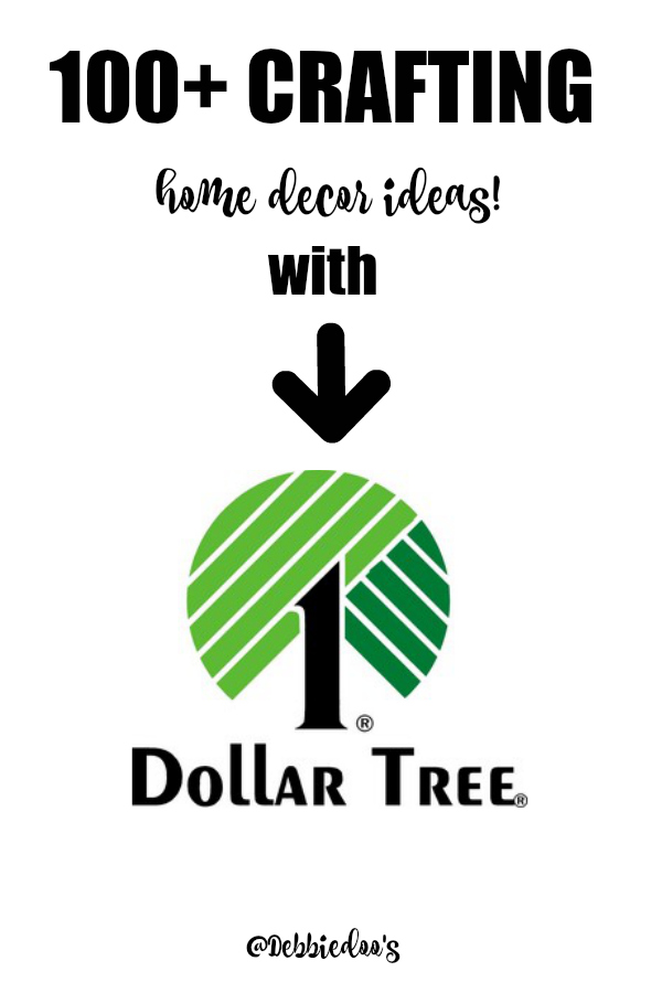100+ Dollar tree crafting and home decor ideas