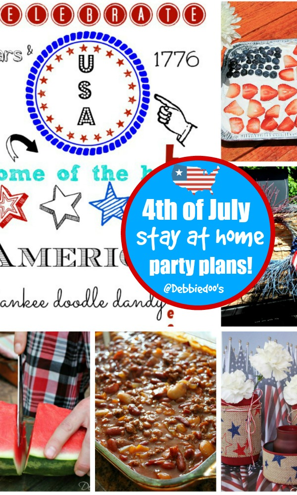 Simple Patriotic party ideas