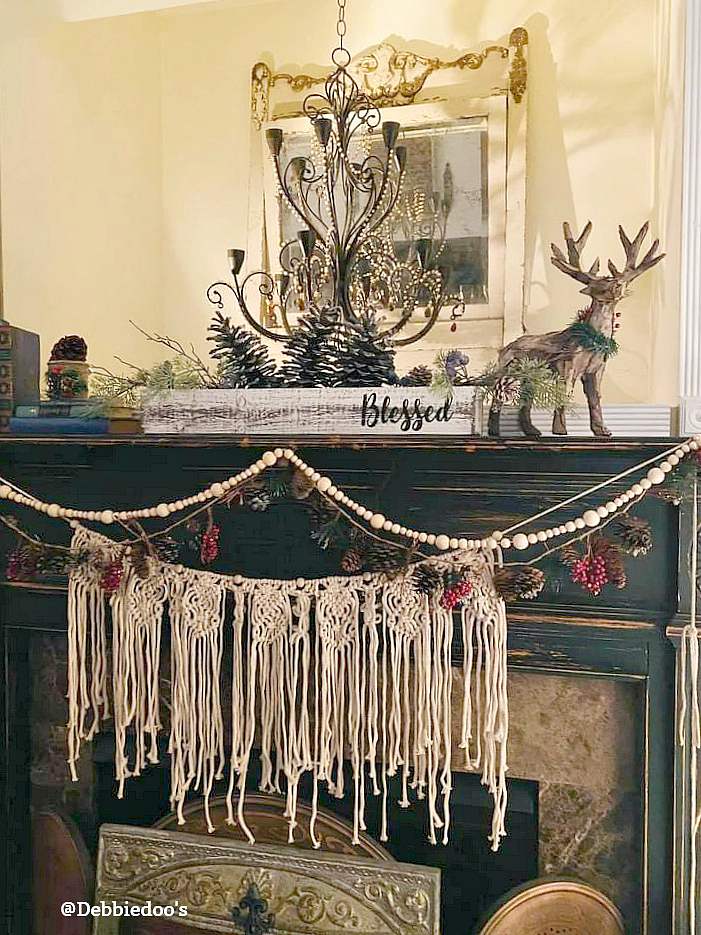Boho Rustic Christmas decor